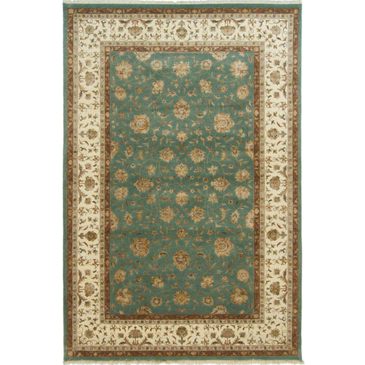 Fine Wool & Silk Kashan Rug 124cm x 185cm - House Of Haghi