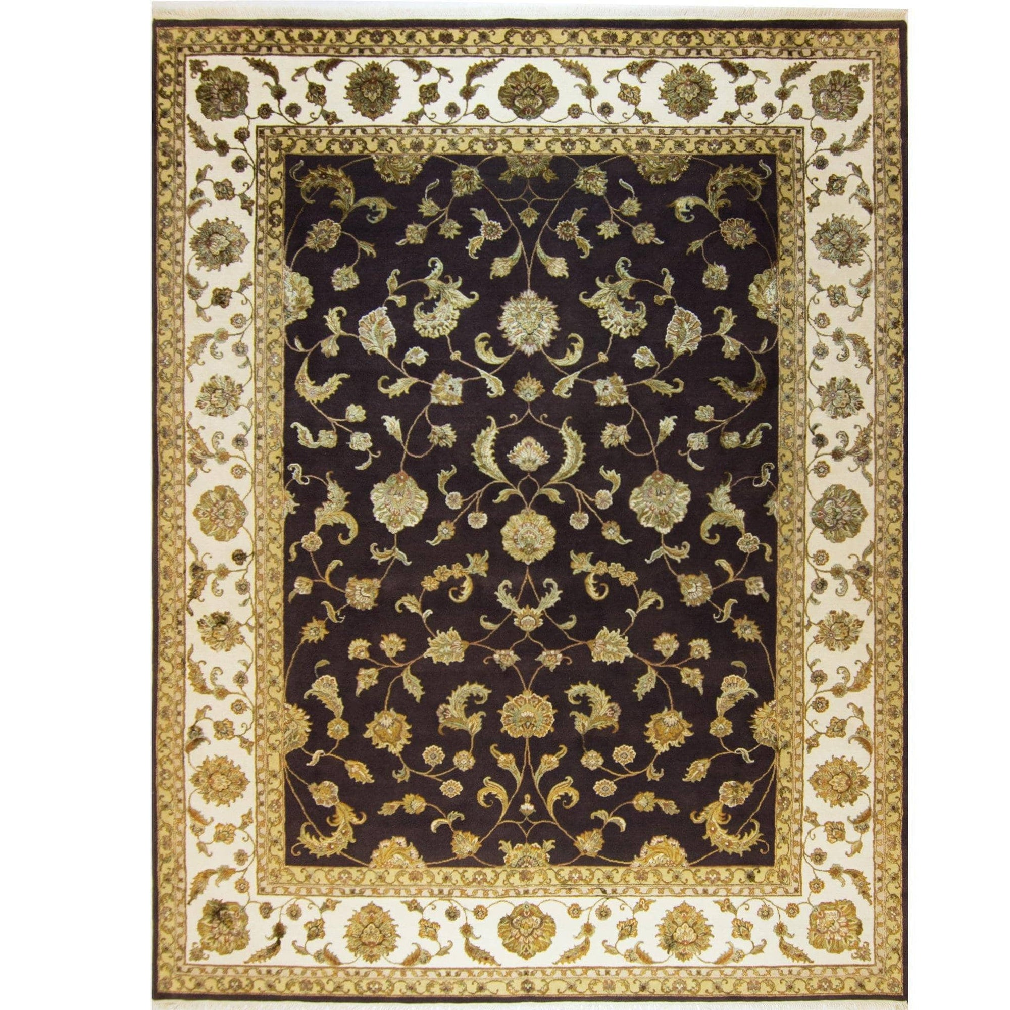 Modern Fine Hand-knotted Wool & Silk Elegance Rug 275cm x 361cm Persian-Rug | House-of-Haghi | NewMarket | Auckland | NZ | Handmade Persian Rugs | Hand Knotted Persian Rugs