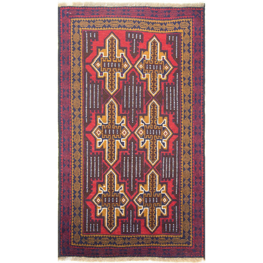 Hand-knotted Wool Baluchi - House Of Haghi