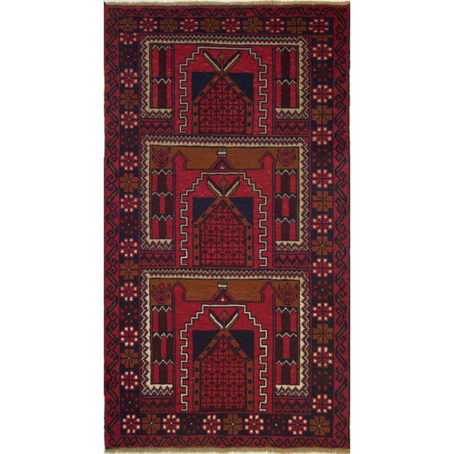 Fine Hand-knotted Persian Wool Baluchi Rug - House Of Haghi