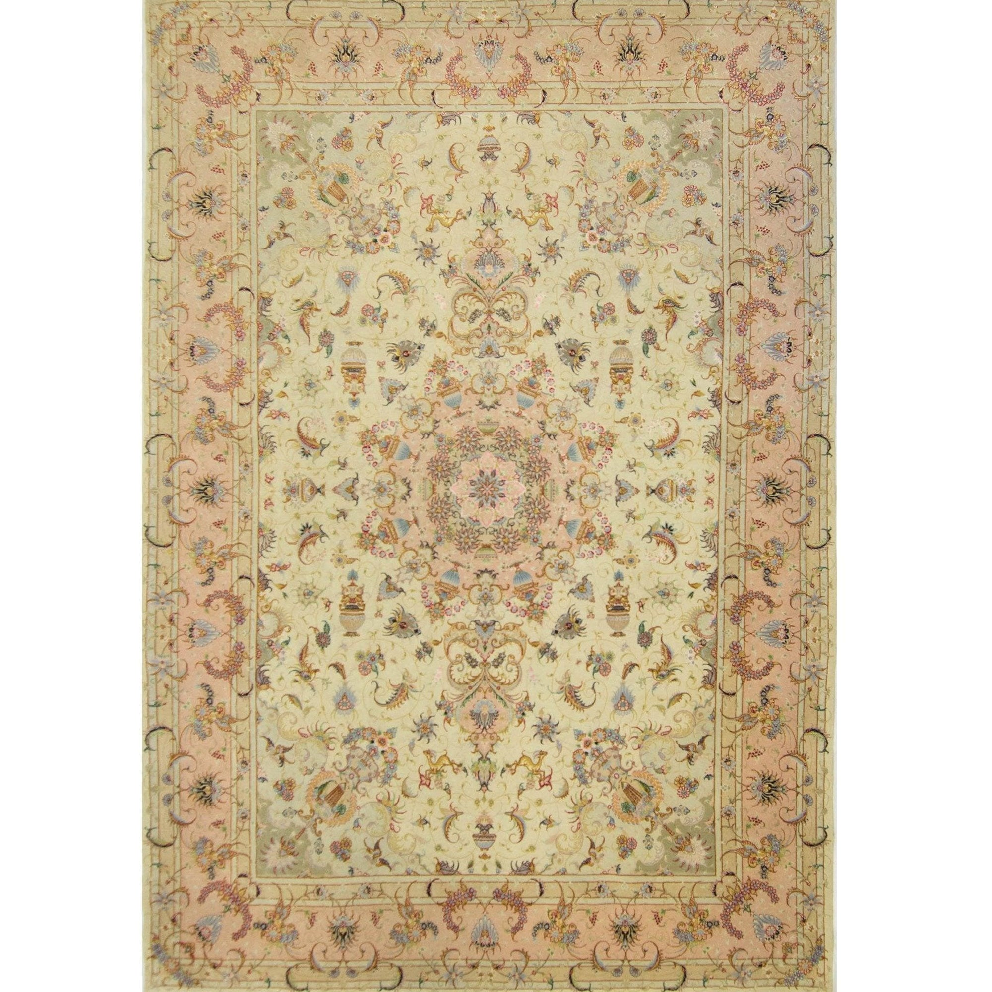 Super Fine Hand-knotted Wool and Silk Persian Rug 251 cm x 356 cm Persian-Rug | House-of-Haghi | NewMarket | Auckland | NZ | Handmade Persian Rugs | Hand Knotted Persian Rugs