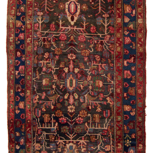 Authentic Hand-knotted Wool Persian Koliai Runner 114cm x 295cm - House Of Haghi