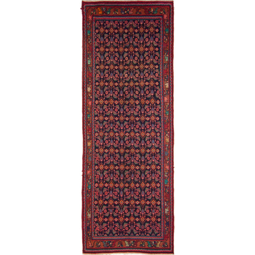 Persian Hand-knotted Hamadan Runner - House Of Haghi