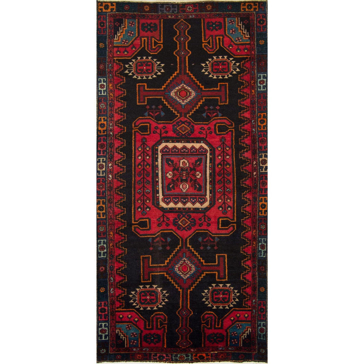 Beautiful Fine Hand-knotted Azerbaijan Rug 125cm x 272cm Persian-Rug | House-of-Haghi | NewMarket | Auckland | NZ | Handmade Persian Rugs | Hand Knotted Persian Rugs