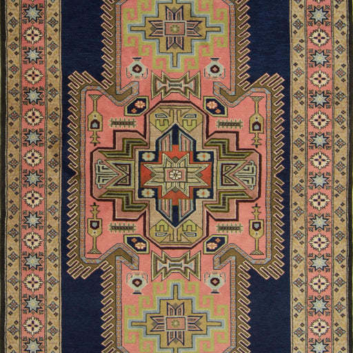 Fine Hand-knotted Wool Persian Ardabil Rug 139cm x 240cm - House Of Haghi