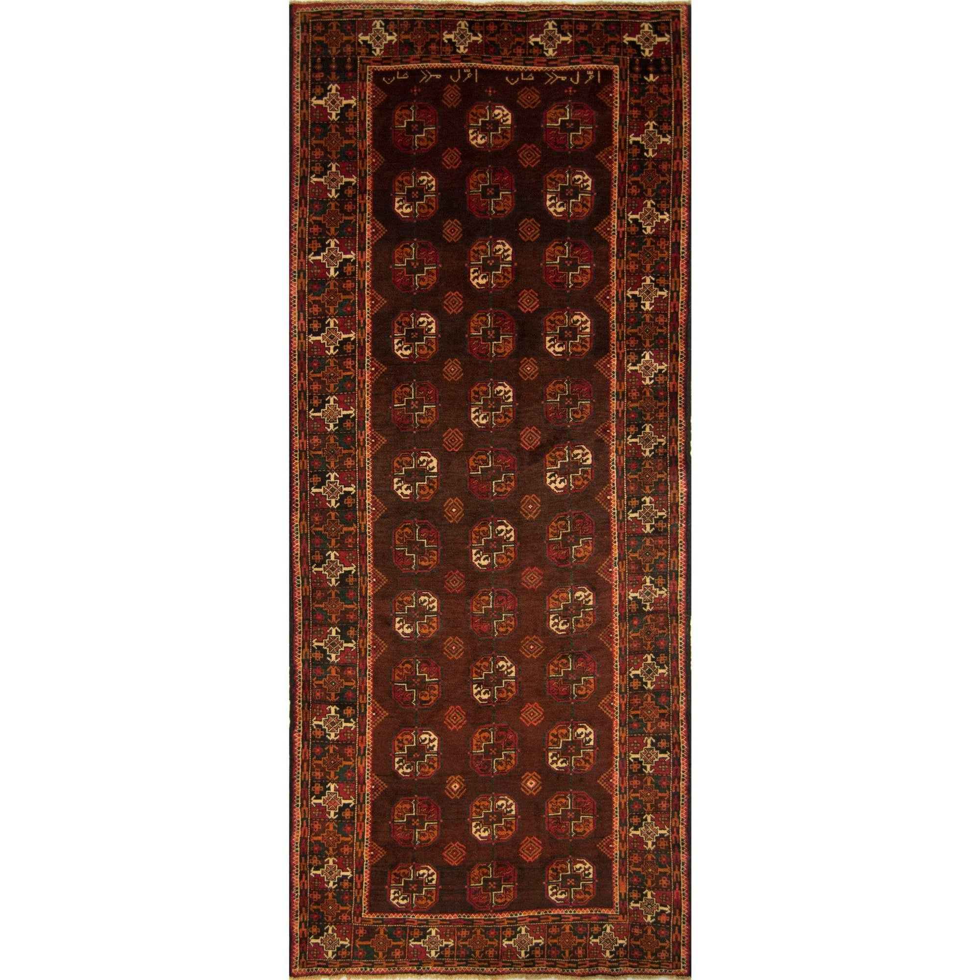Persian Baluchi Runner 114cm x 292cm Persian-Rug | House-of-Haghi | NewMarket | Auckland | NZ | Handmade Persian Rugs | Hand Knotted Persian Rugs