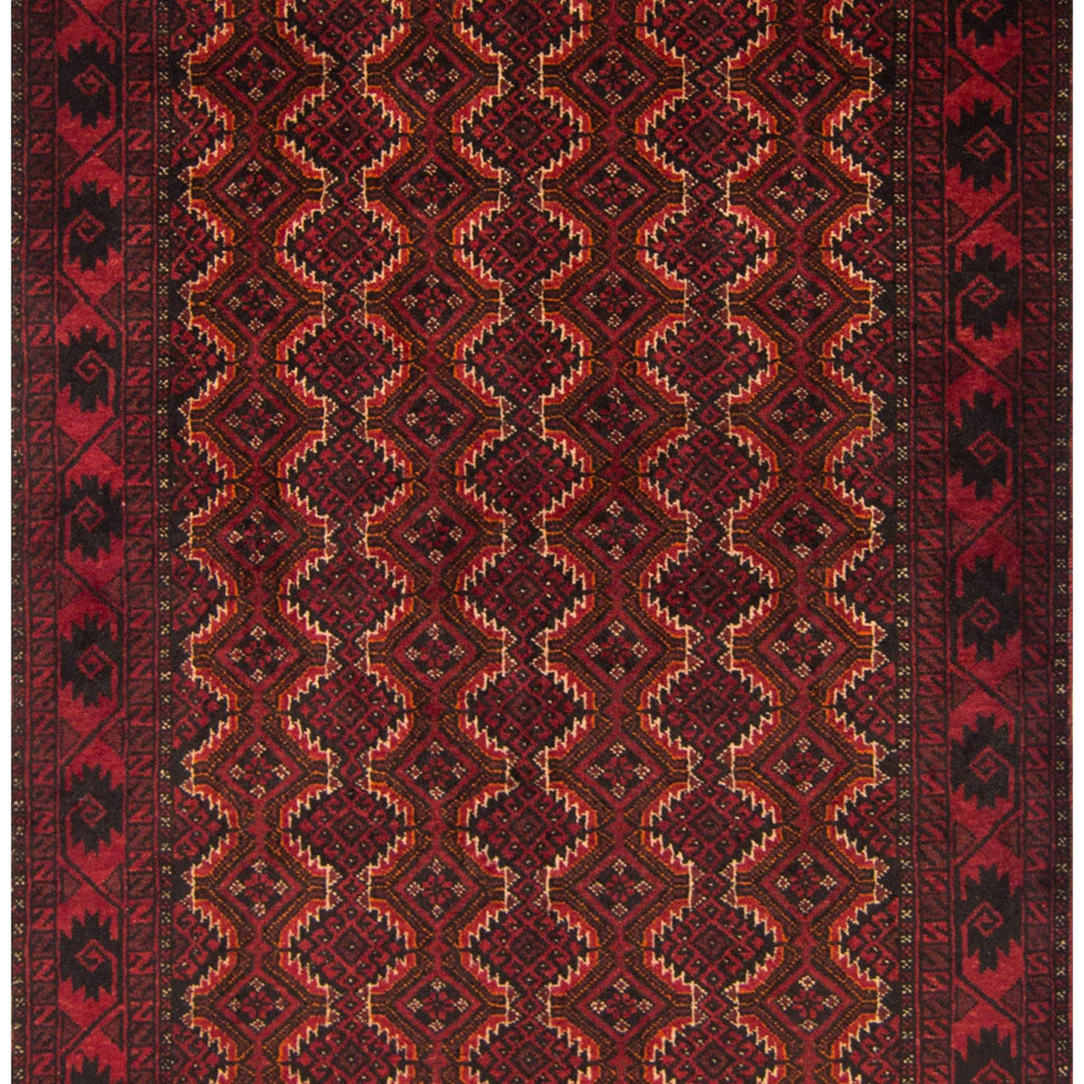 Persian Baluchi Rug 108cm x 207cm Persian-Rug | House-of-Haghi | NewMarket | Auckland | NZ | Handmade Persian Rugs | Hand Knotted Persian Rugs