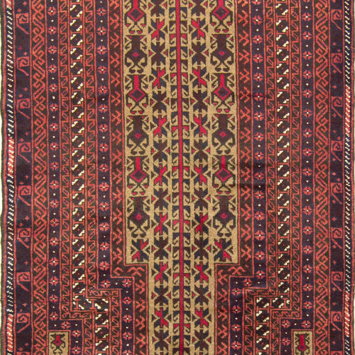 Fine Hand-knotted Persian Wool Baluchi - House Of Haghi