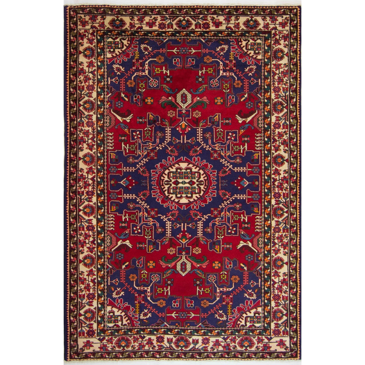 Authentic Hand-knotted Wool Persian Tafresh Rug 137cm x 202cm Persian-Rug | House-of-Haghi | NewMarket | Auckland | NZ | Handmade Persian Rugs | Hand Knotted Persian Rugs