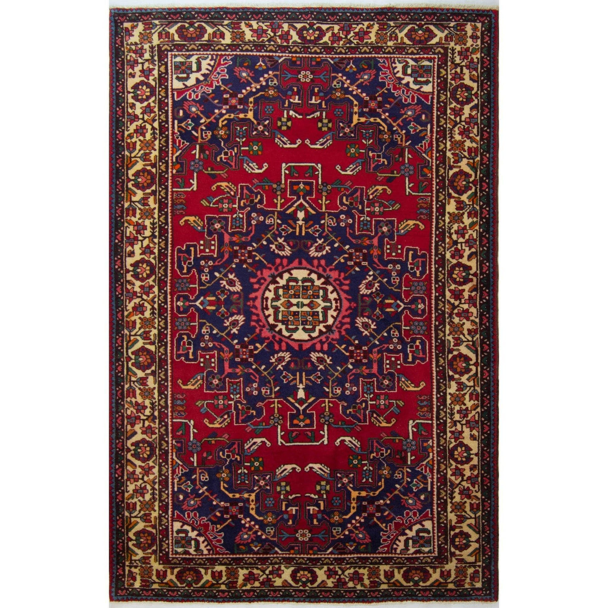 Authentic Hand-knotted Wool Persian Tafresh Rug 140cm x 204cm Persian-Rug | House-of-Haghi | NewMarket | Auckland | NZ | Handmade Persian Rugs | Hand Knotted Persian Rugs