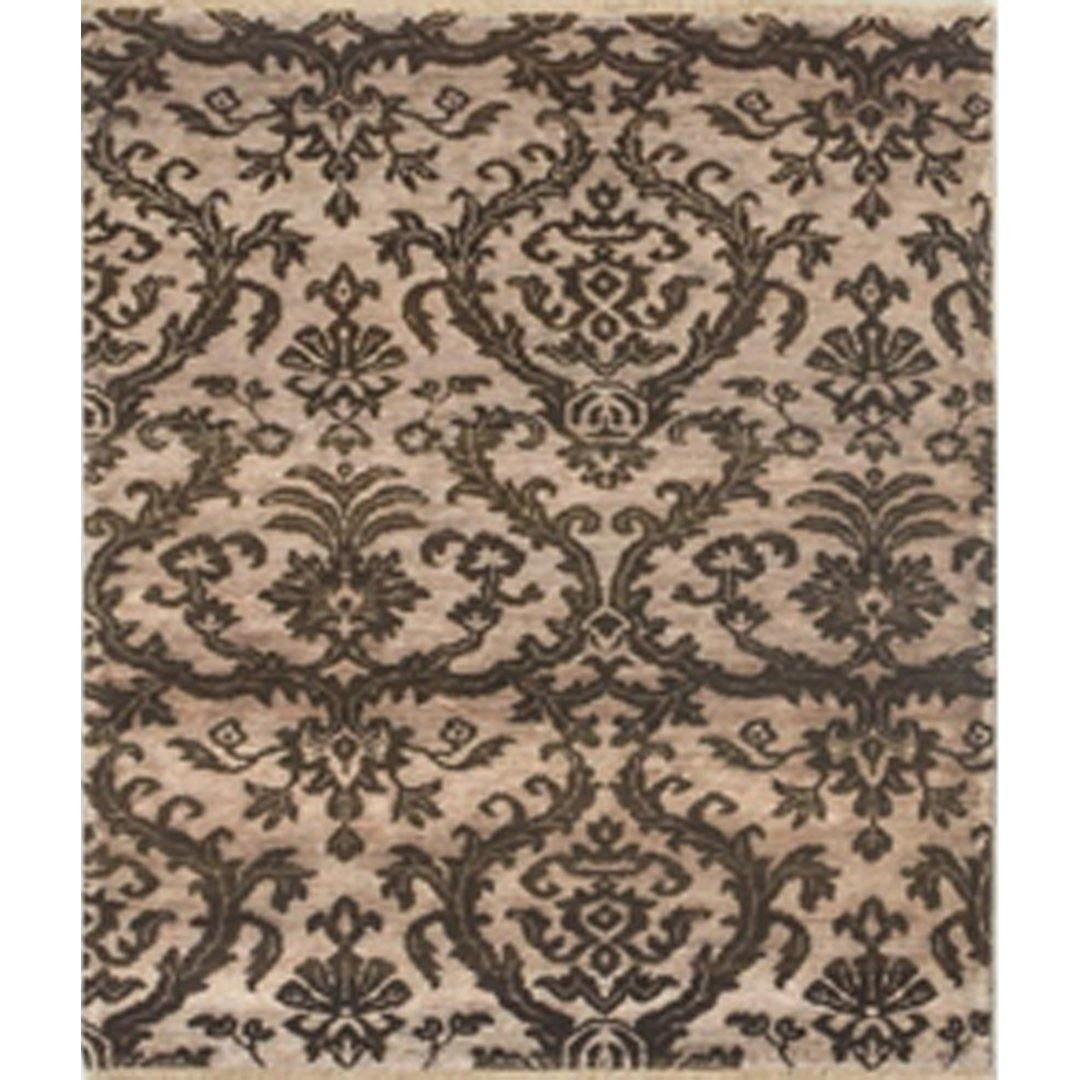 Contemporary Hand-knotted NZ Wool & Silk Damask Small Rug 96cm x 146cm Persian-Rug | House-of-Haghi | NewMarket | Auckland | NZ | Handmade Persian Rugs | Hand Knotted Persian Rugs