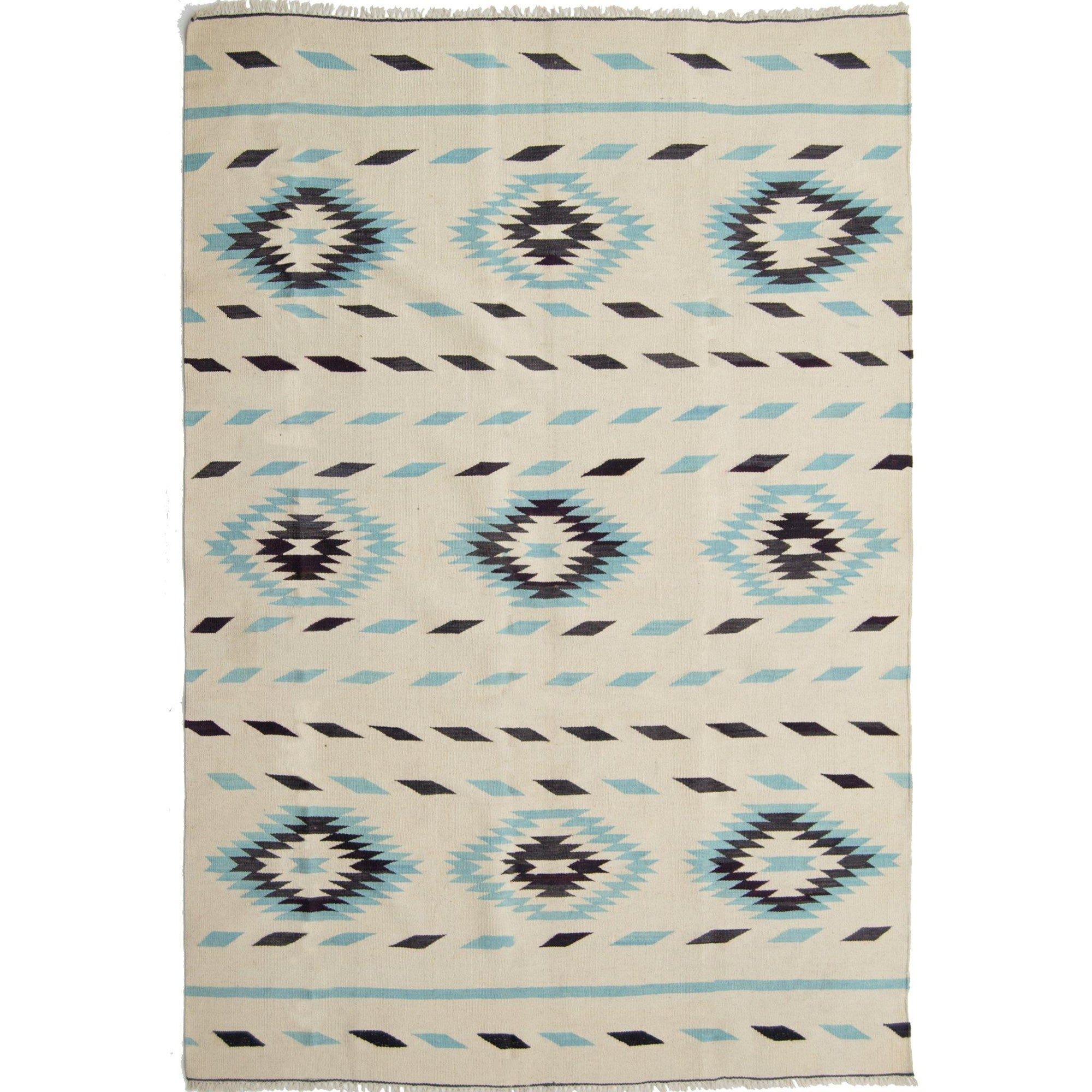 Modern Hand-woven 100% Wool Afghan Chobi Kilim Rug 177cm x 234cm Persian-Rug | House-of-Haghi | NewMarket | Auckland | NZ | Handmade Persian Rugs | Hand Knotted Persian Rugs