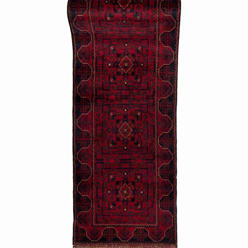 Fine Hand-knotted Afghan Khal Mohammadi Runner - House Of Haghi
