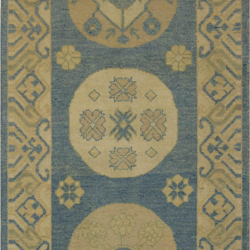 Hand-knotted Wool Kothan Runner 83cm x 282cm - House Of Haghi