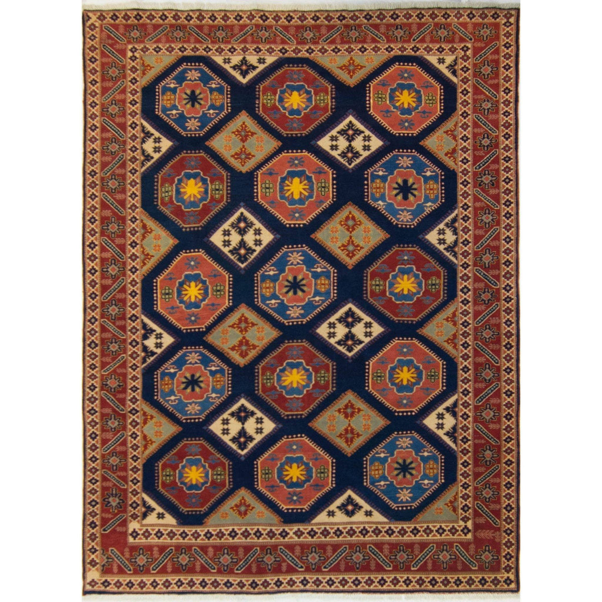 Fine Persian Wool Shirvan rug Persian-Rug | House-of-Haghi | NewMarket | Auckland | NZ | Handmade Persian Rugs | Hand Knotted Persian Rugs
