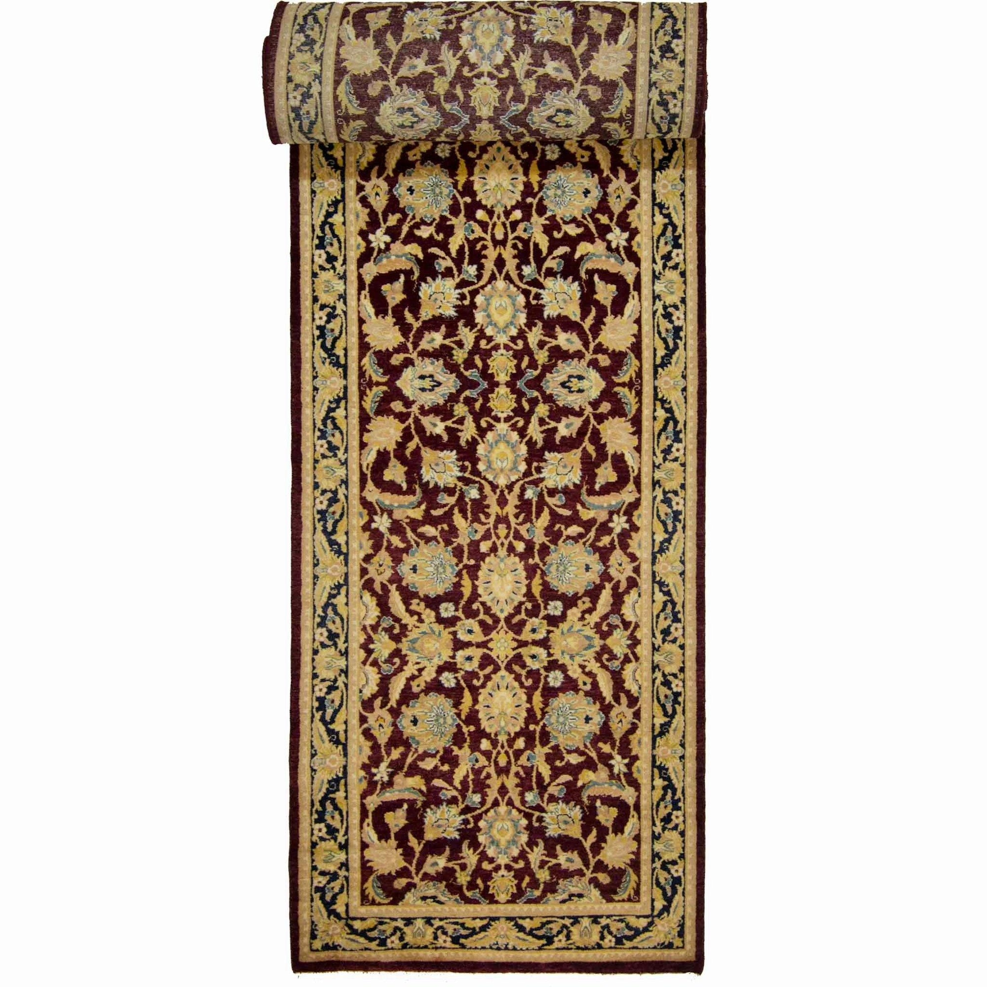 Fine Hand-knotted Wool Kashan Runner 78cm x 365cm Persian-Rug | House-of-Haghi | NewMarket | Auckland | NZ | Handmade Persian Rugs | Hand Knotted Persian Rugs