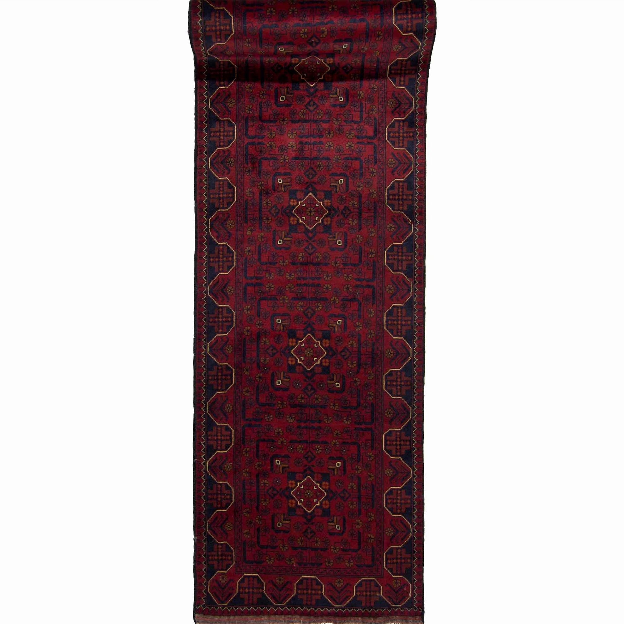 Fine Tribal 100% Wool  Hand-knotted Khal Mohammadi Runner 77cm x 581cm Persian-Rug | House-of-Haghi | NewMarket | Auckland | NZ | Handmade Persian Rugs | Hand Knotted Persian Rugs