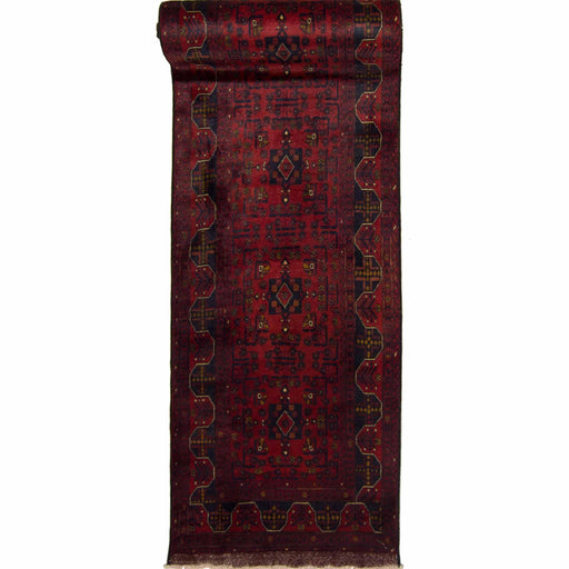 Fine Hand-knotted 100% Wool Khal Mohammadi Runner 80cm x 580cm - House Of Haghi