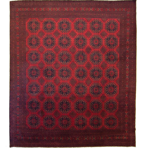 Afghan Hand-knotted Wool Khal Mohammadi Rug - House Of Haghi