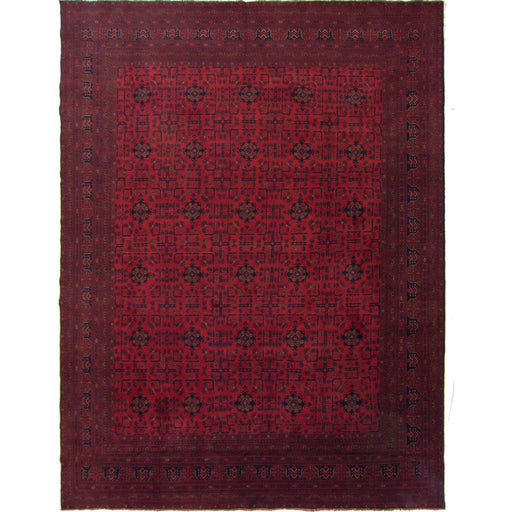 Afghan Tribal Hand-knotted 100% Wool Khal Mohammadi Rug 297cm x 383cm - House Of Haghi