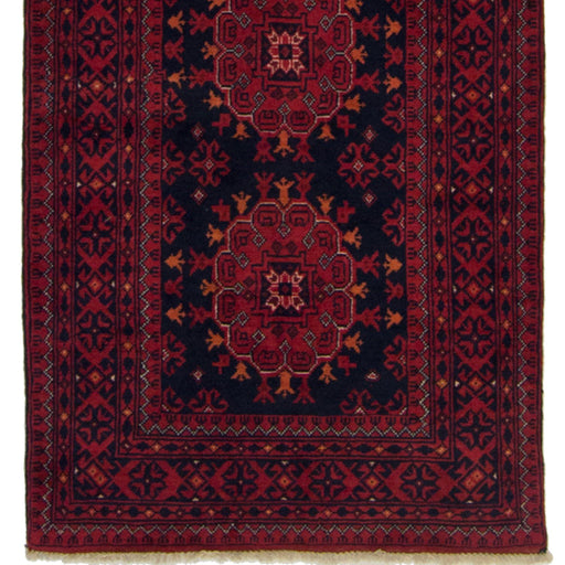 Hand-knotted 100% Wool Khal Mohammadi Runner 73cm x 3.4cm - House Of Haghi