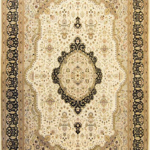 Super Fine Hand-knotted Wool & Silk Kerman Rug 307cm x 430cm - House Of Haghi