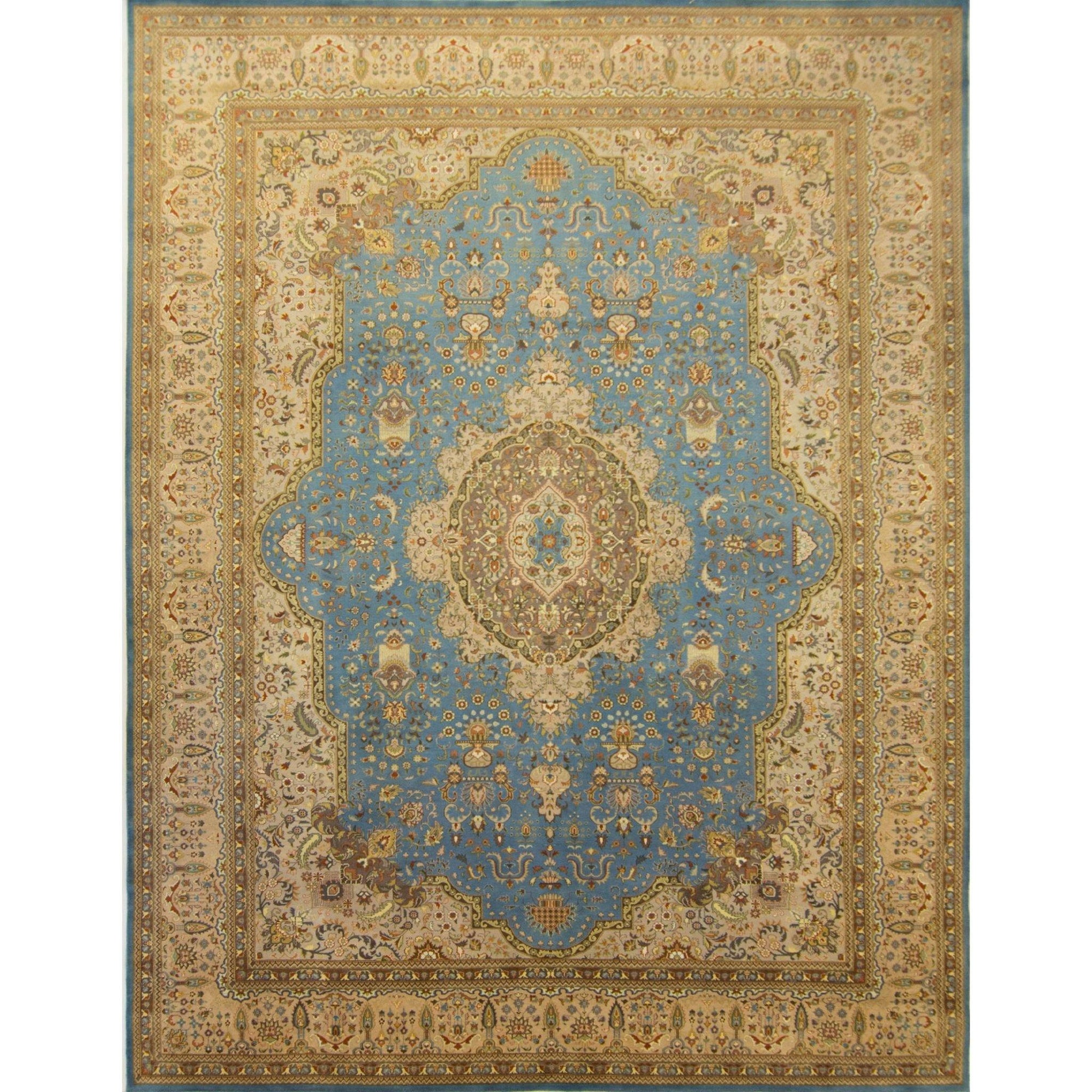 Fine Wool & Silk Hand-knotted Kerman Rug 309cm x 437cm Persian-Rug | House-of-Haghi | NewMarket | Auckland | NZ | Handmade Persian Rugs | Hand Knotted Persian Rugs