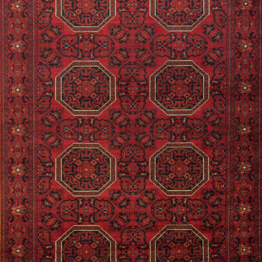 Tribal Afghan 100% Wool Hand-knotted Khal Mohammadi Rug 193 cm x 296 cm - House Of Haghi