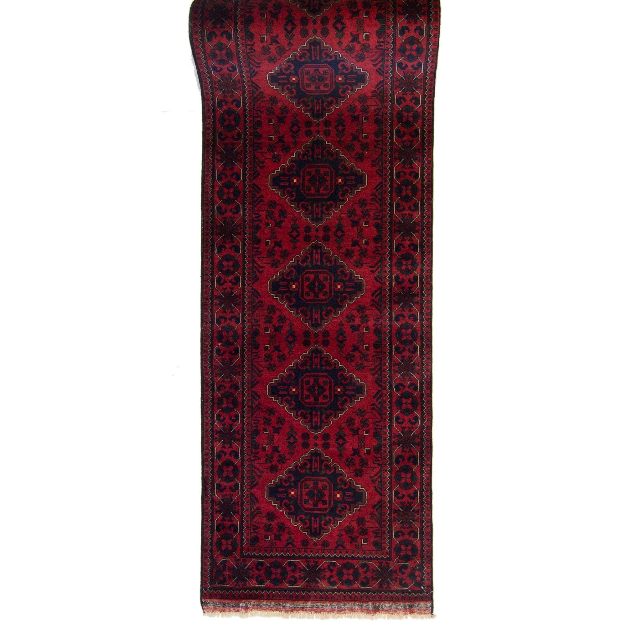 Hand-knotted Tribal 100% Wool Khal Mohammadi Runner 78cm x 780cm Persian-Rug | House-of-Haghi | NewMarket | Auckland | NZ | Handmade Persian Rugs | Hand Knotted Persian Rugs