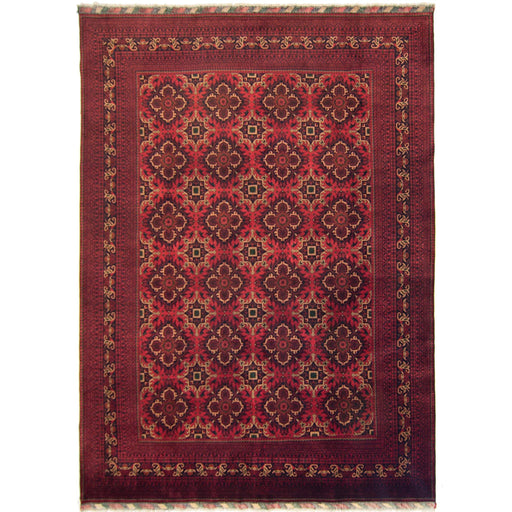 Afghan Hand-knotted Wool Khal Mohammadi Rug