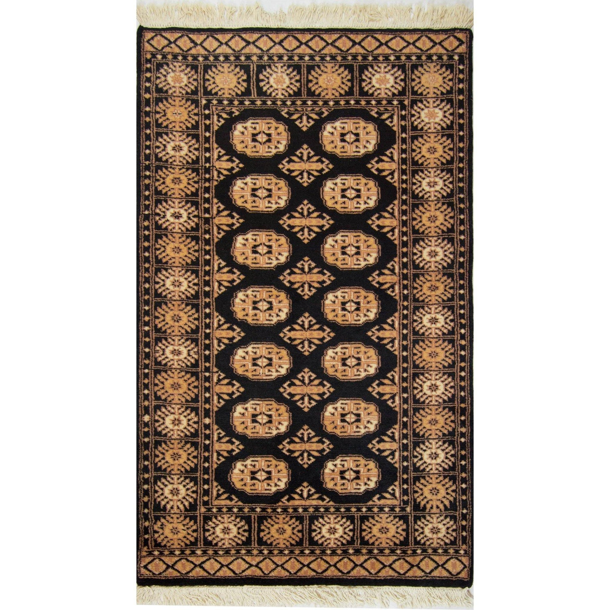 Fine Hand-knotted Tribal Wool Bokhara Rug 91cm x 151cm Persian-Rug | House-of-Haghi | NewMarket | Auckland | NZ | Handmade Persian Rugs | Hand Knotted Persian Rugs
