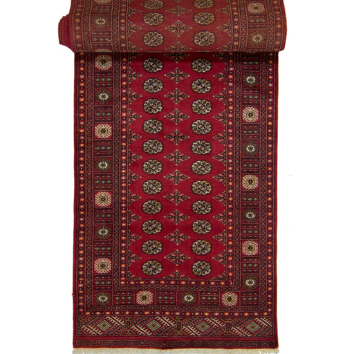 Tribal Hand-knotted 100% Wool Bokhara Runner 119 cm x 583 cm - House Of Haghi