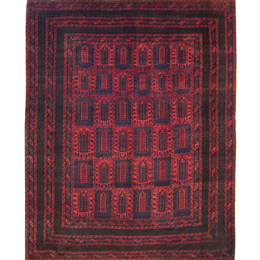 Super Fine Hand-knotted Persian Wool Baluchi Rug - House Of Haghi