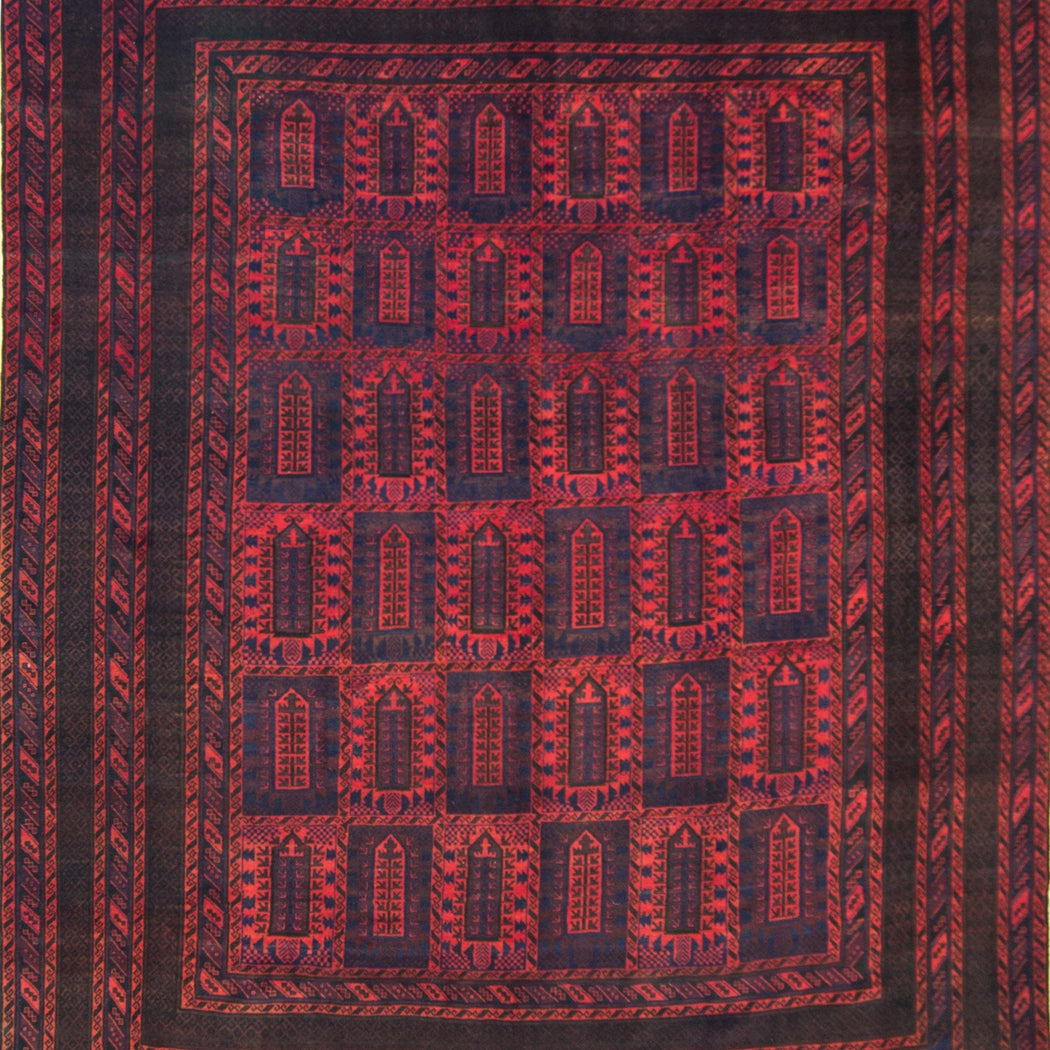 3 x 4 Meter_Persian_Super Fine Hand-knotted Persian Wool Baluchi Rug_handknotted_Rug
