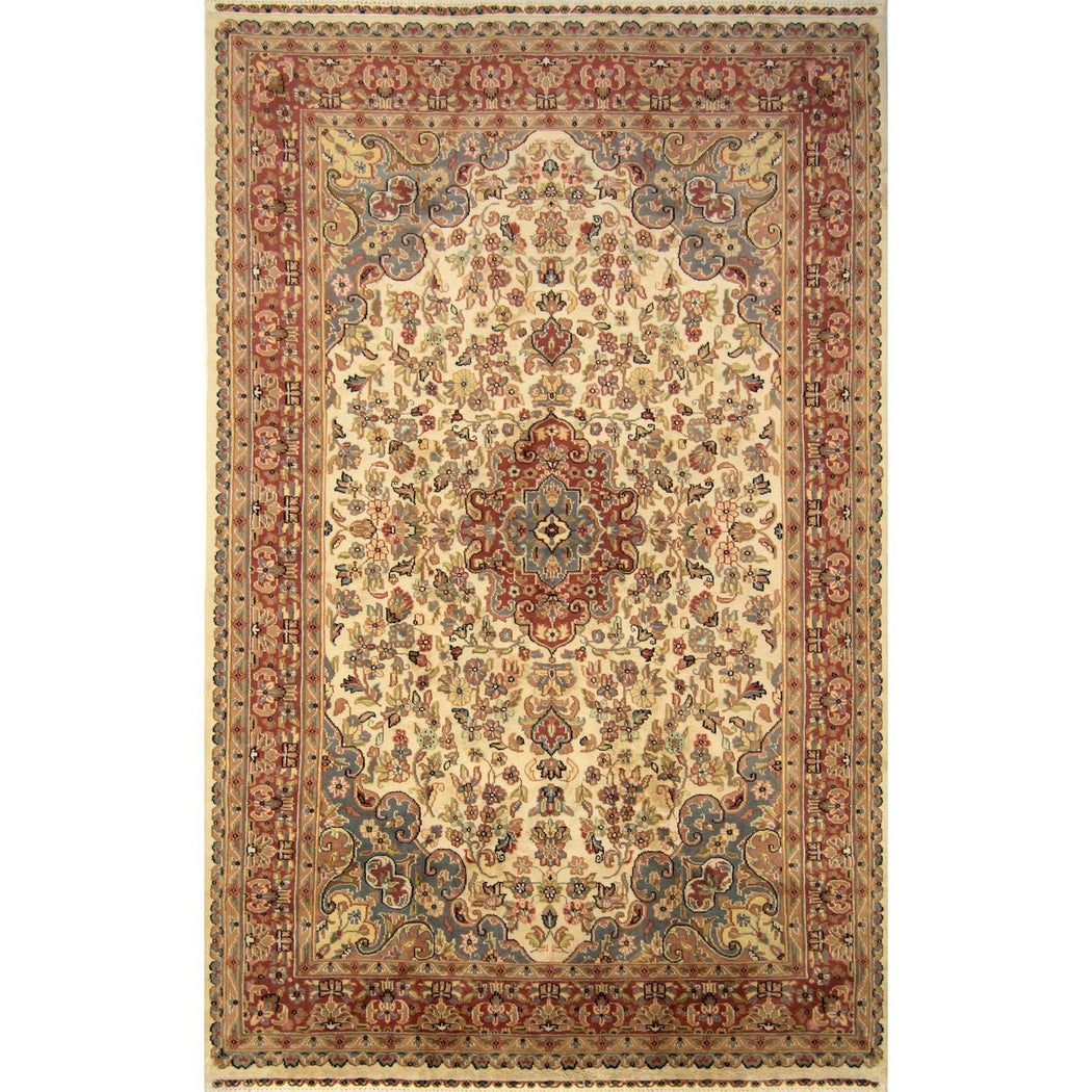 Hand-knotted Wool Traditional Persian Rug 155cm x 241cm - House Of Haghi