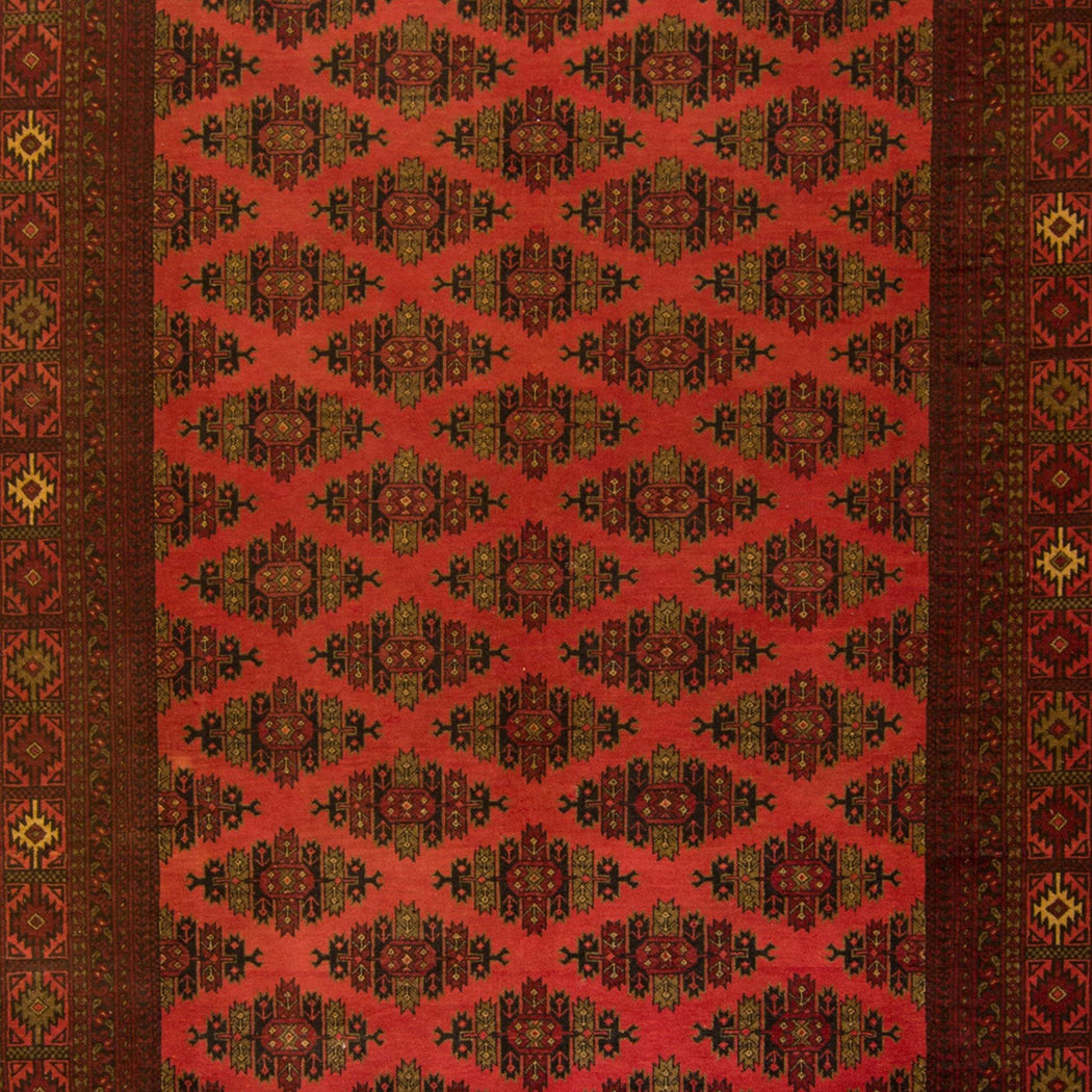 2 x 2.5 Meter_Persian_Turkmen_handknotted_Rug