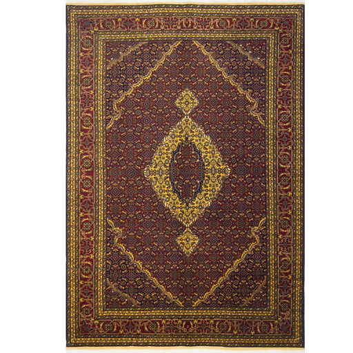 2 x 3 Meter_Persian_Super Fine Hand-knotted Afghan Mahi Rug_handknotted_Rug