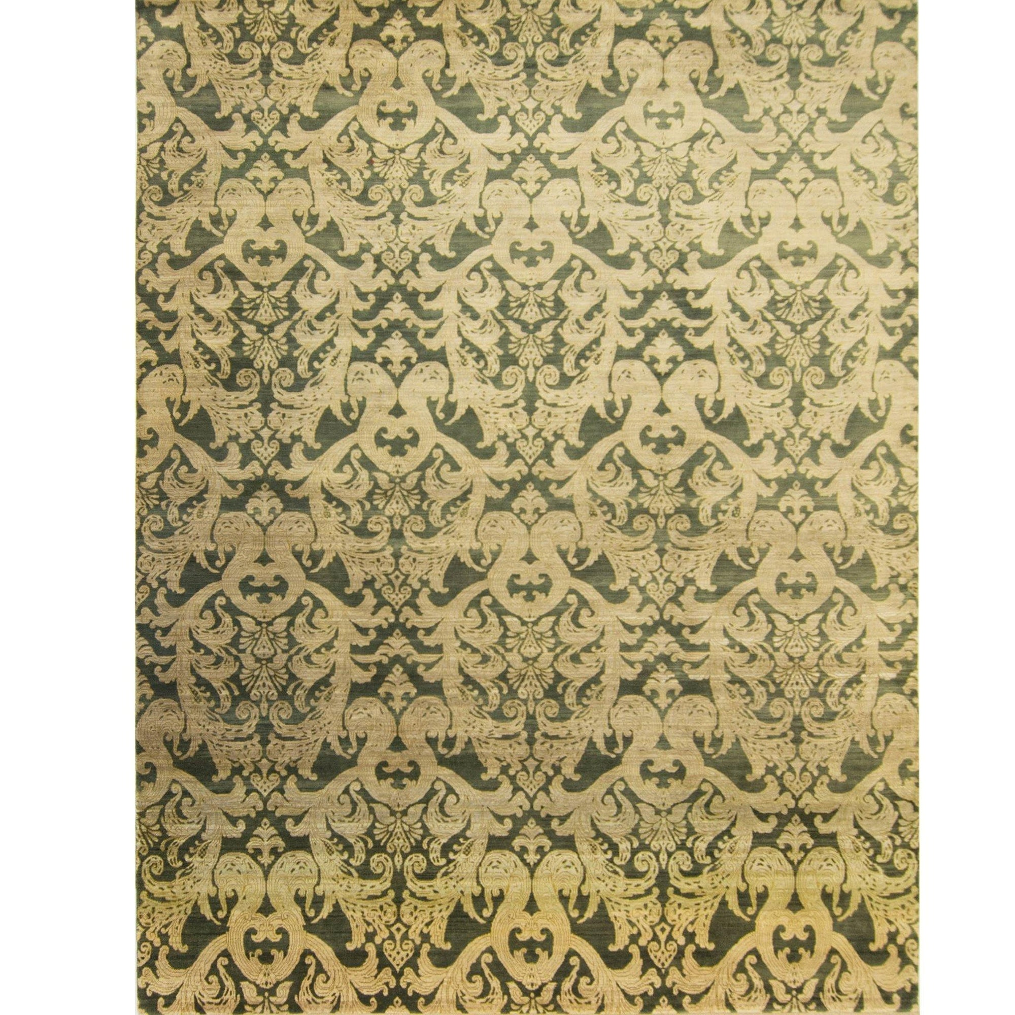 Fine Modern Hand-knotted Ushak Rug 277cm x 362cm Persian-Rug | House-of-Haghi | NewMarket | Auckland | NZ | Handmade Persian Rugs | Hand Knotted Persian Rugs