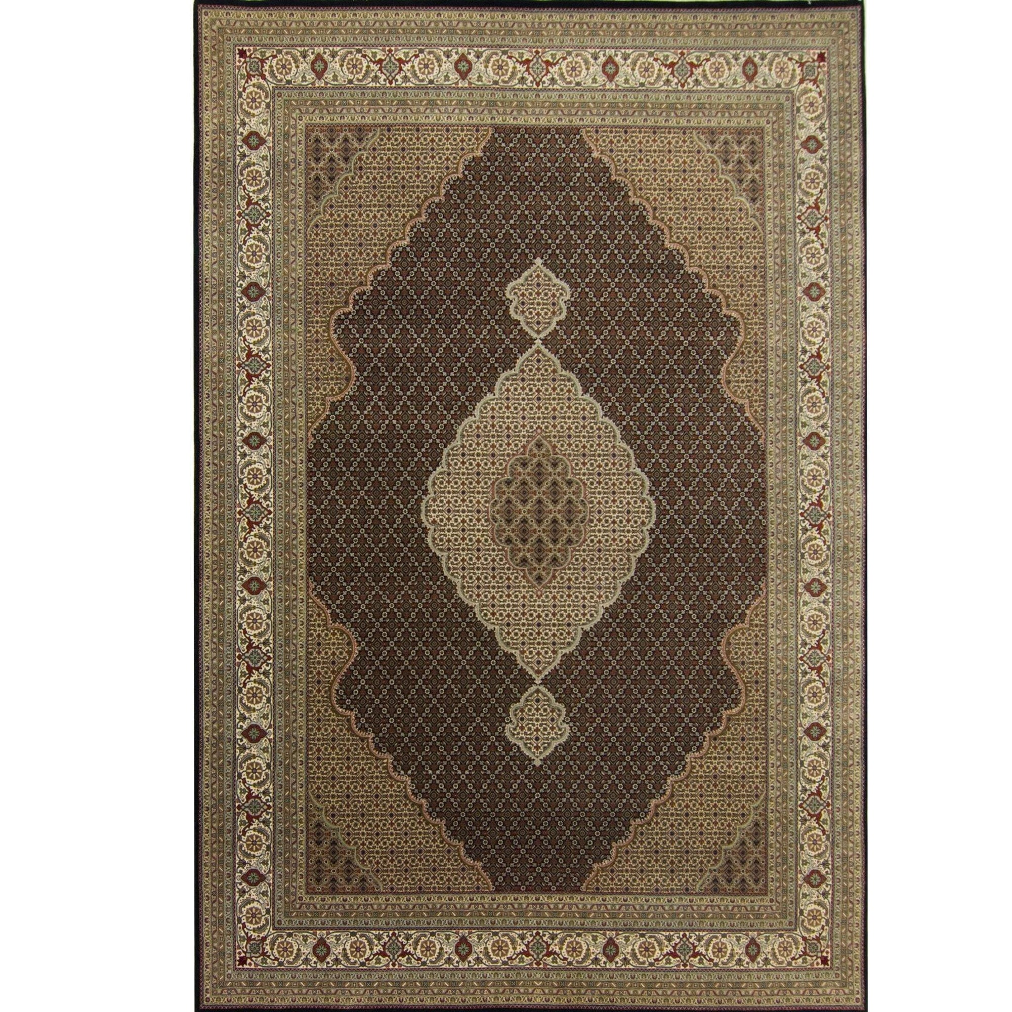 Super Fine Hand-knotted Wool and Silk Tabriz - Mahi Rug 265 cm x 367 cm Persian-Rug | House-of-Haghi | NewMarket | Auckland | NZ | Handmade Persian Rugs | Hand Knotted Persian Rugs