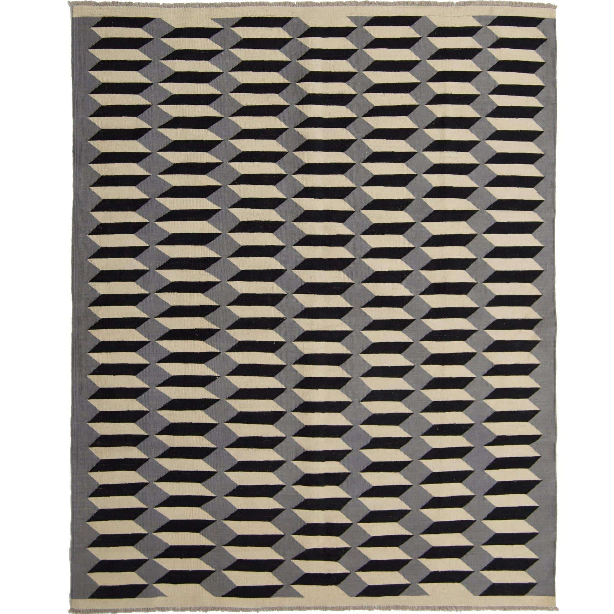 Moden Hand-woven 100% Wool Chobi Kilim Rug 193cm x 245cm Persian-Rug | House-of-Haghi | NewMarket | Auckland | NZ | Handmade Persian Rugs | Hand Knotted Persian Rugs