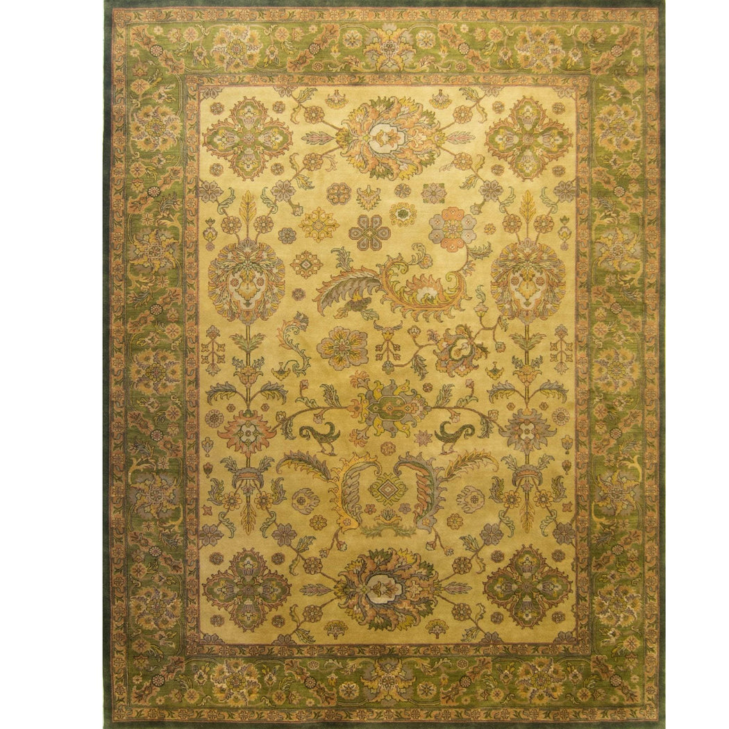 Hand-knotted Wool Persian Rug 307cm x 429cm - House Of Haghi