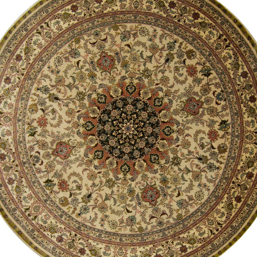 2 x 2 Meter_Persian_Round Rug_handknotted_Round Rug