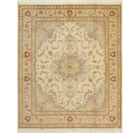 Fine Hand-knotted Persian Tabriz Rug 244cm x 305cm - House Of Haghi