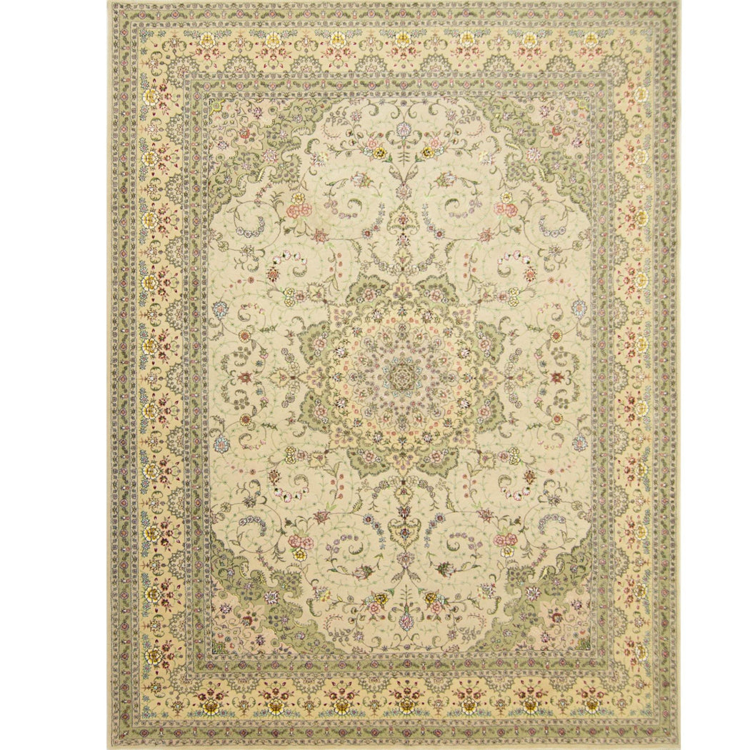 2.5 x 3.5 Meter_Persian_Tabriz_handknotted_Rug