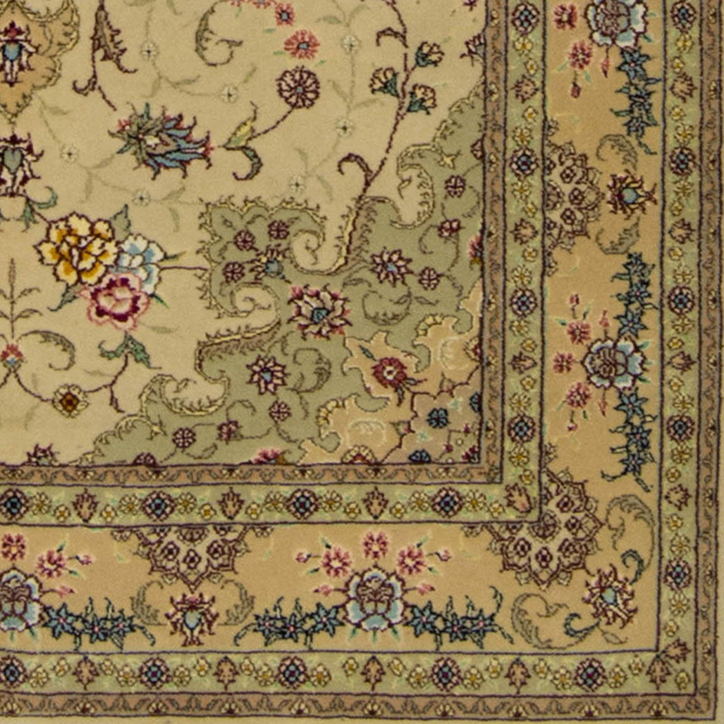 1 x 2 Meter_Persian_Tabriz_handknotted_Rug