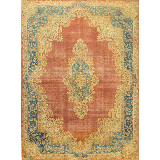 2.5 x 4 Meter_Persian_Kerman - Antique_handknotted_Rug