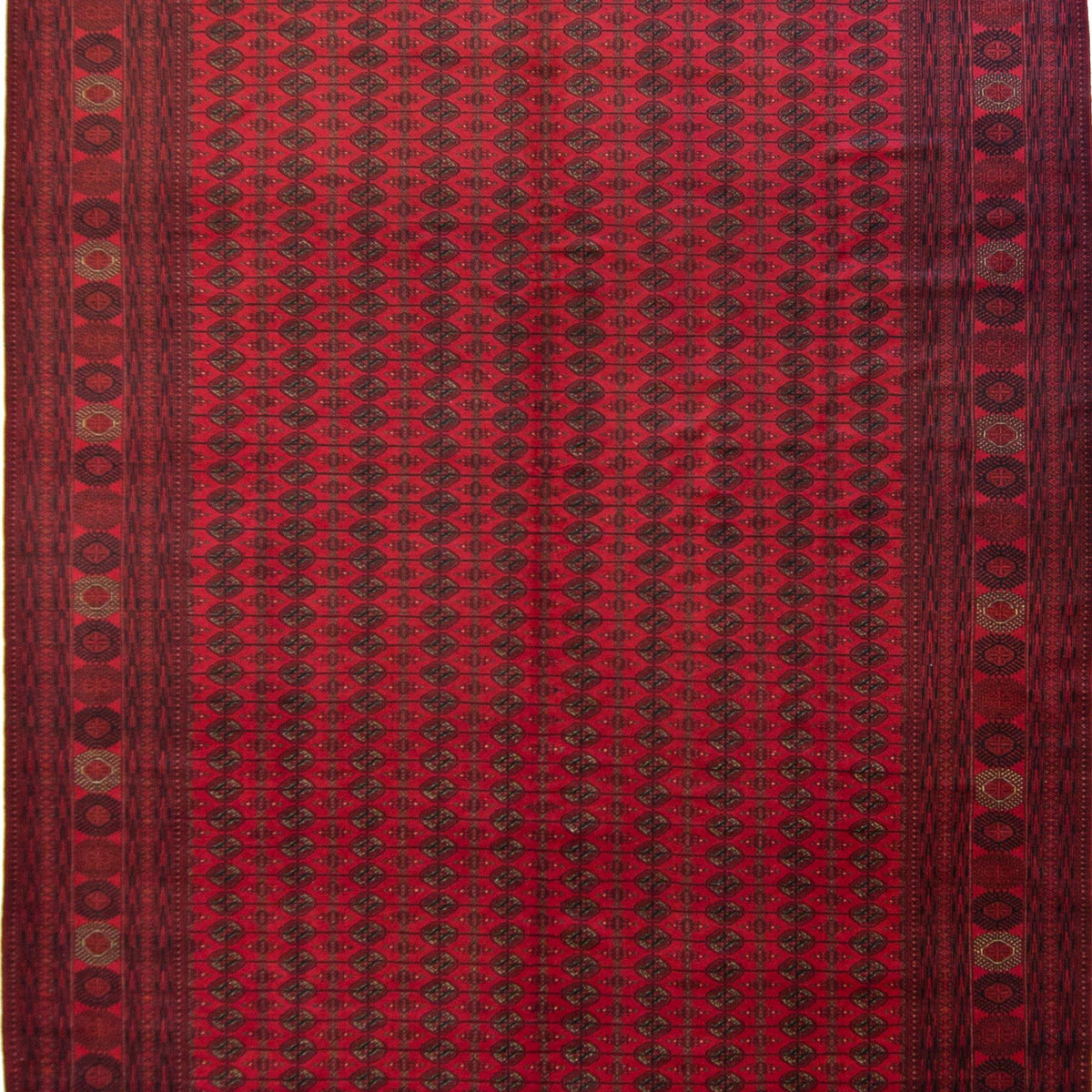 Fine Hand-knotted Wool Afghan Turkmen Rug 294cm x 385cm Persian-Rug | House-of-Haghi | NewMarket | Auckland | NZ | Handmade Persian Rugs | Hand Knotted Persian Rugs