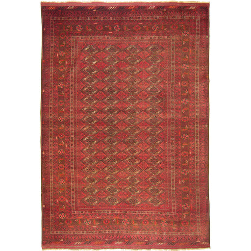 Fine Hand-knotted Afghan Turkmen Rug - House Of Haghi