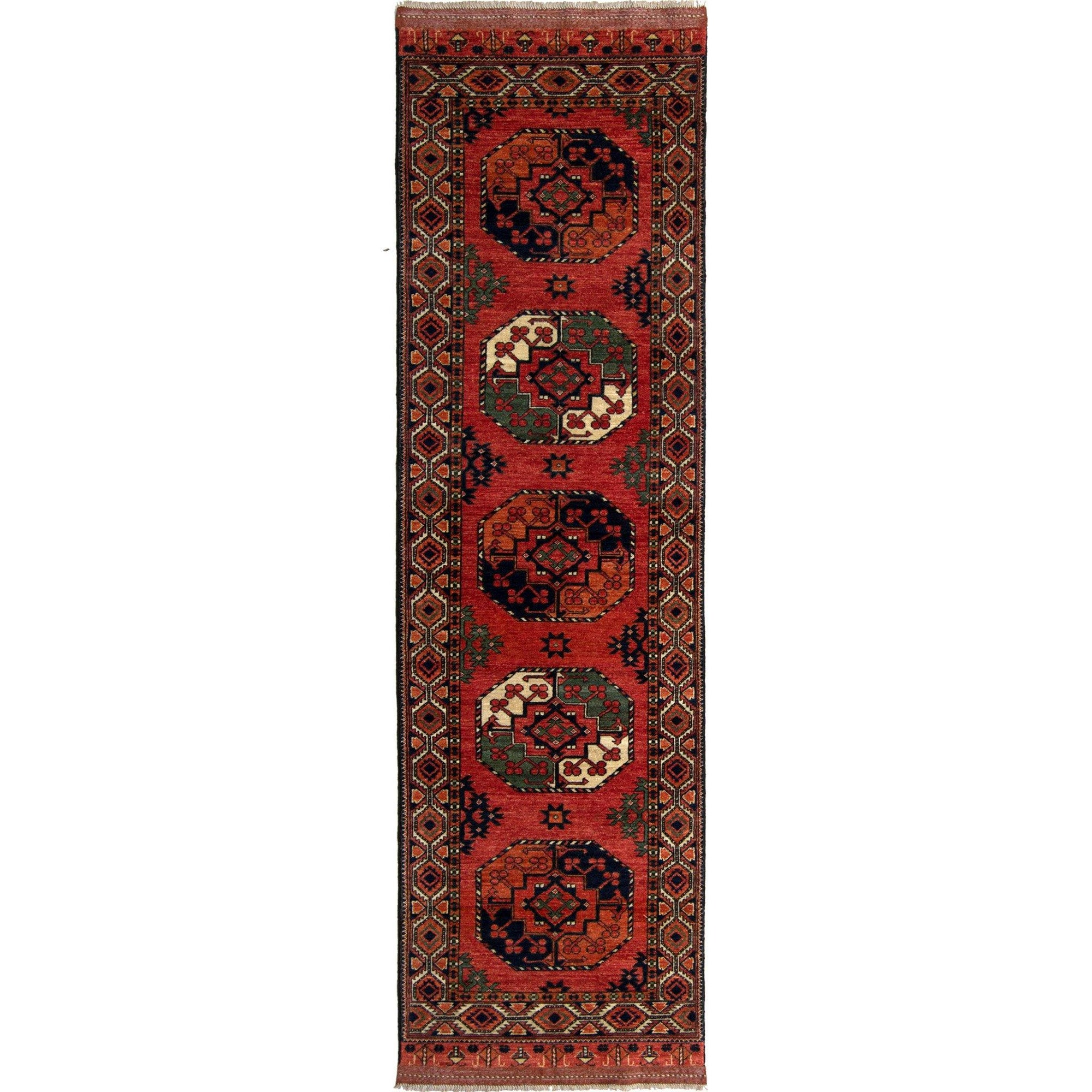 Fine Hand-knotted Tribal  Wool Runner 83cm x 292cm Persian-Rug | House-of-Haghi | NewMarket | Auckland | NZ | Handmade Persian Rugs | Hand Knotted Persian Rugs