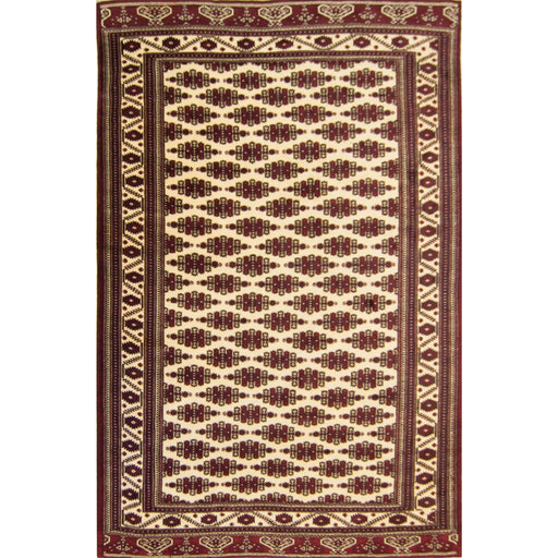 Fine Hand-knotted 100% Wool Persian Turkmen Rug 245cm x 396cm - House Of Haghi